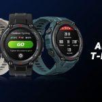Reloj inteligente Amazfit T-Rex con pantalla AMOLED siempre encendida, uso de GPS de 40 horas …