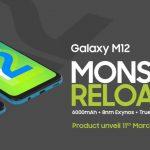 Samsung Galaxy M12 con pantalla de frecuencia de actualización de 90 Hz, batería de 6000 mAh India …