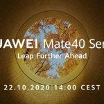 Huawei Mate 40 se lanzará el 22 de octubre;  especificaciones que conocemos …