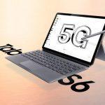 Samsung Galaxy Tab S6 5G con Snapdragon 855 SoC, 10.5 pulgadas QHD + …