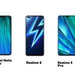 Realme 6 vs Redmi Note 8 Pro vs Realme 5 Pro: …