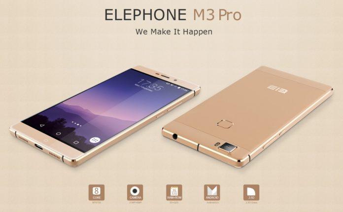 Elephone M3 e M3 PRO puntano al mercato occidentale: prime immagini e caratteristiche