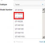 GT-I9200 Galaxy Fonblet 6.3 aparece en un sitio coreano