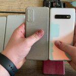 Galaxy S20: más pantalla y aún menos bordes.  Aquí hay una comparación con Note10 / S10 (video)