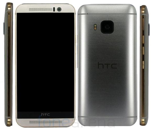 HTC One M9e certificato in Cina: il successore di M9+ con 1 GB di RAM in meno (foto)