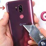 LG G7 ThinQ es realmente sólido y resistente gracias a la elegante combinación de vidrio y metal (video)