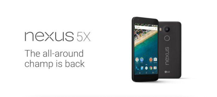 LG Nexus 5X online è già sceso a 421€, disponibile dalla prossima settimana