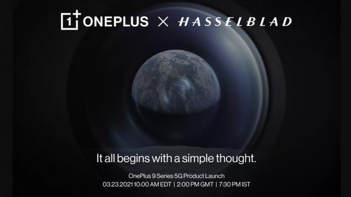 La serie OnePlus 9 llegará el 23 de marzo