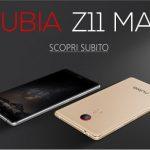 Nubia Z11 Max, pedidos anticipados abiertos también en Italia: precio especial de 349 €