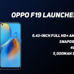 OPPO F19 con Snapdragon 662 SoC, cámaras traseras triples de 48MP lanzadas …