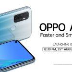 Oppo continúa su invasión del mercado con el nuevo Oppo A53, aquí está en exhibición por todos lados (foto)