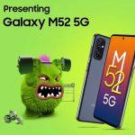 Samsung Galaxy M52 5G con lanzamiento de Snapdragon 778 en India en …
