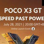 Se revela la fecha de lanzamiento de POCO X3 GT, se espera que sea el renombrado …