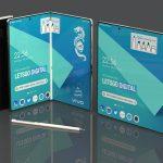 Smartphone plegable Vivo con lápiz óptico