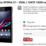 Sony Xperia Z1 en oferta a 379 € de CoopOnline, pero solo durante los próximos 5 días